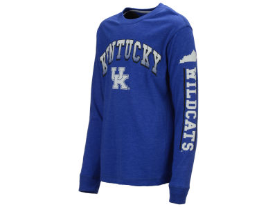 Kentucky Wildcats Colosseum NCAA Youth Grandstand Long Sleeve T-Shirt