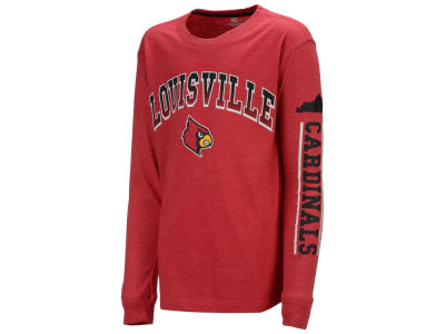 Louisville Cardinals Colosseum NCAA Youth Grandstand Long Sleeve T-Shirt