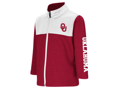 Oklahoma Sooners Colosseum NCAA Toddler Clutch Full Zip Jacket