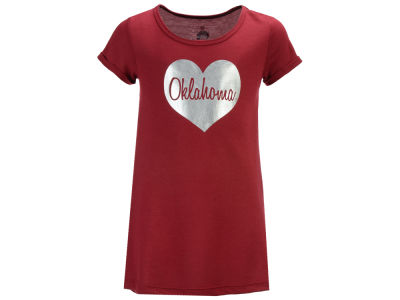 Oklahoma Sooners Colosseum NCAA Toddler Girls Croquet Dress