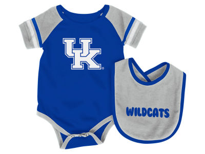Kentucky Wildcats Colosseum NCAA Newborn Rollout Onesie and Bib Set