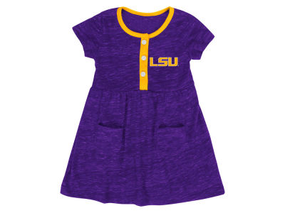 LSU Tigers Colosseum NCAA Newborn Girls Triple Jump Dress