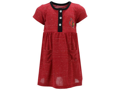 Louisville Cardinals Colosseum NCAA Newborn Girls Triple Jump Dress