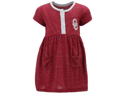 Oklahoma Sooners Colosseum NCAA Newborn Girls Triple Jump Dress
