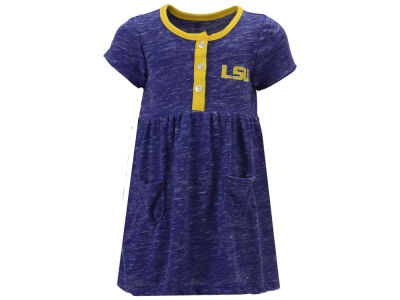LSU Tigers Colosseum NCAA Infant Girls Triple Jump Dress