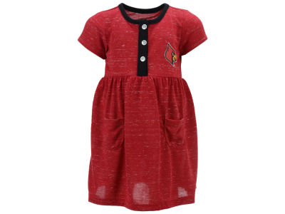 Louisville Cardinals Colosseum NCAA Infant Girls Triple Jump Dress
