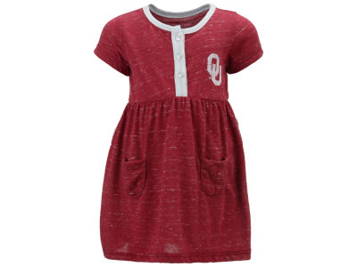 Oklahoma Sooners Colosseum NCAA Infant Girls Triple Jump Dress
