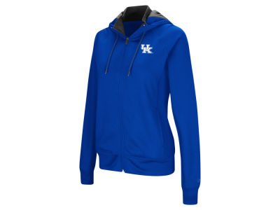 Kentucky Wildcats Colosseum NCAA Women's Medley Full Zip Hooded Sweatshirt