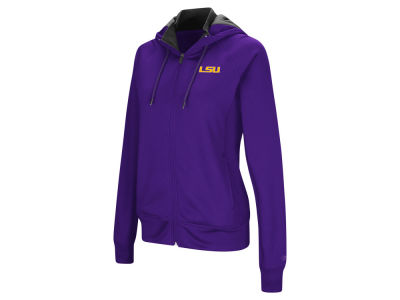 LSU Tigers Colosseum NCAA Women's Medley Full Zip Hooded Sweatshirt