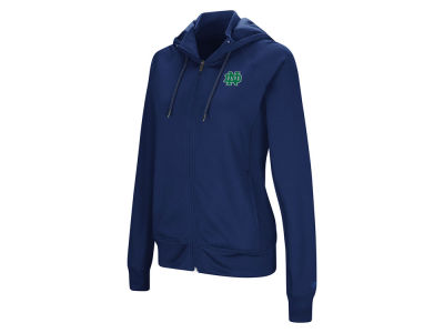Notre Dame Fighting Irish Colosseum NCAA Women's Medley Full Zip Hooded Sweatshirt