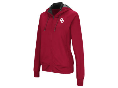 Oklahoma Sooners Colosseum NCAA Women's Medley Full Zip Hooded Sweatshirt