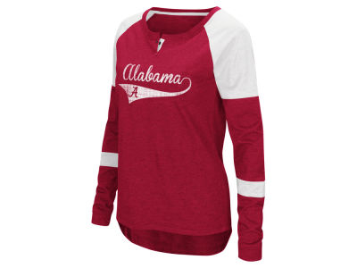 Alabama Crimson Tide Colosseum NCAA Women's Routine Long Sleeve T-Shirt