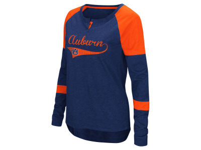 Auburn Tigers Colosseum NCAA Women's Routine Long Sleeve T-Shirt