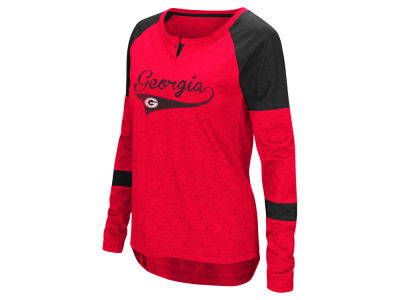 Georgia Bulldogs Colosseum NCAA Women's Routine Long Sleeve T-Shirt
