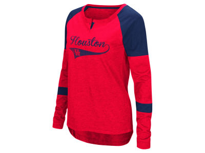 Houston Cougars Colosseum NCAA Women's Routine Long Sleeve T-Shirt