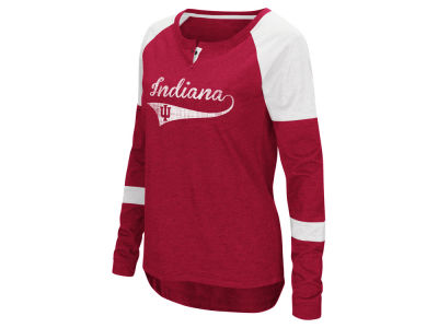 Indiana Hoosiers Colosseum NCAA Women's Routine Long Sleeve T-Shirt