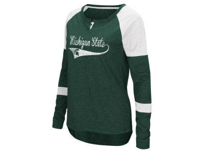 Michigan State Spartans Colosseum NCAA Women's Routine Long Sleeve T-Shirt