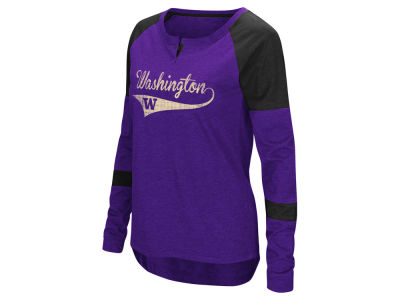 Washington Huskies Colosseum NCAA Women's Routine Long Sleeve T-Shirt