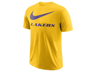 Los Angeles Lakers Nike NBA Men's Swoosh Legend Team T-Shirt