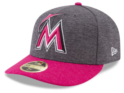 Miami Marlins New Era 2017 Mothers Day Low Profile 59FIFTY Cap