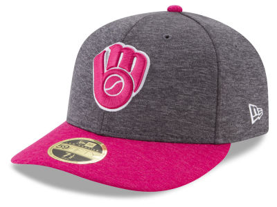 Milwaukee Brewers New Era 2017 Mothers Day Low Profile 59FIFTY Cap