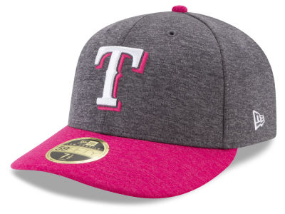 Texas Rangers New Era 2017 Mothers Day Low Profile 59FIFTY Cap