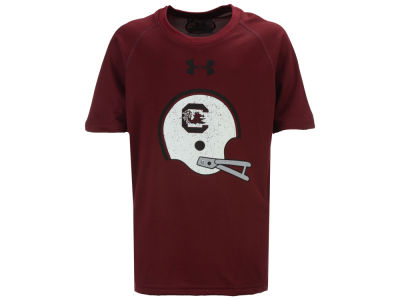 South Carolina Gamecocks Under Armour NCAA Youth Helmet Tech T-Shirt