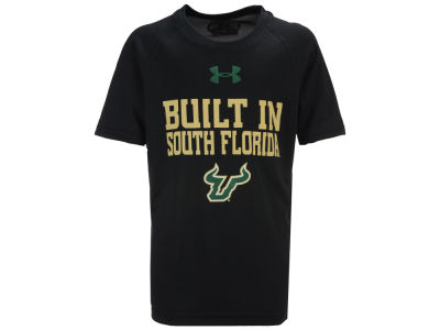 South Florida Bulls Under Armour NCAA Youth Built In Tech T-Shirt