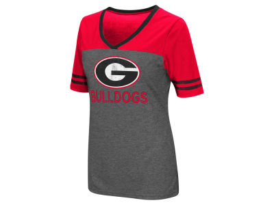 Georgia Bulldogs Colosseum NCAA Women's Mctwist T-Shirt