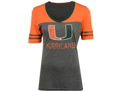 Miami Hurricanes Colosseum NCAA Women's Mctwist T-Shirt