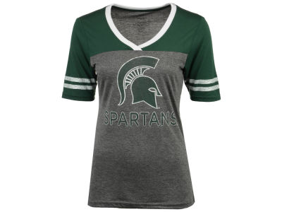 Michigan State Spartans Colosseum NCAA Women's Mctwist T-Shirt