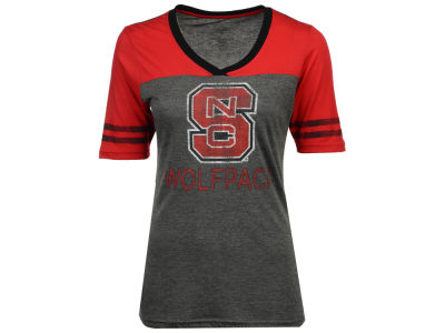 North Carolina State Wolfpack Colosseum NCAA Women's Mctwist T-Shirt