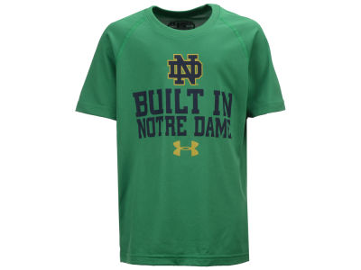 Notre Dame Fighting Irish Under Armour NCAA Youth Built In Tech T-Shirt