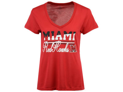 Miami (Ohio) Redhawks Colosseum NCAA Women's PowerPlay T-Shirt