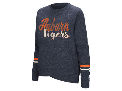 Auburn Tigers Colosseum NCAA Women's Birdie Fleece Crew Sweatshirt