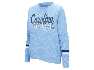 North Carolina Tar Heels Colosseum NCAA Women's Birdie Fleece Crew Sweatshirt