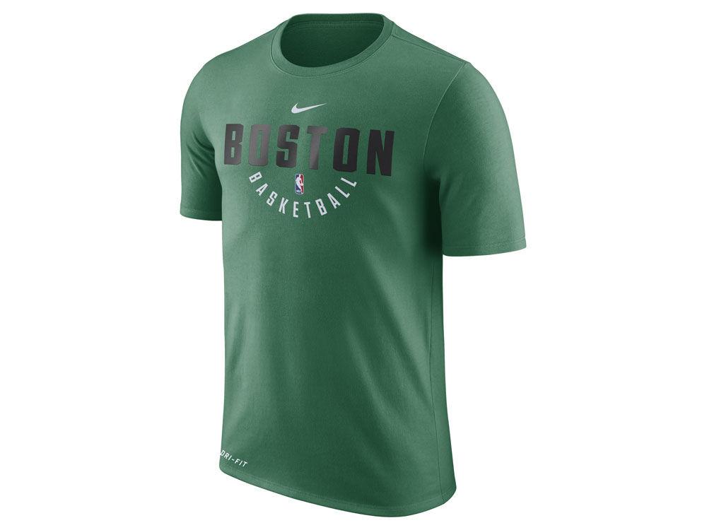 Boston Celtics Nike NBA Men s Dri-Fit Cotton Practice T-Shirt  9f229d111