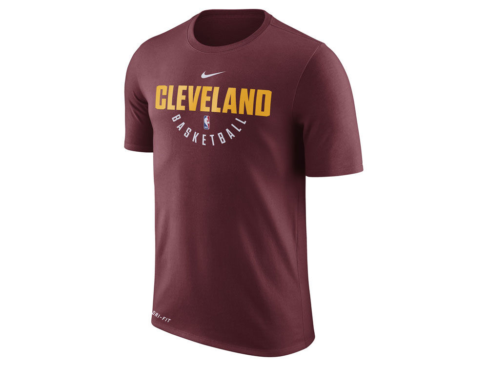 Cleveland Cavaliers Nike NBA Men s Dri-Fit Cotton Practice T-Shirt ... 93cbab24d