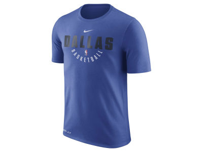 Dallas Mavericks Nike NBA Men's Dri-Fit Cotton Practice T-Shirt