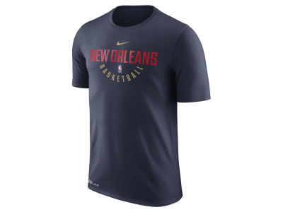 New Orleans Pelicans Nike NBA Men's Dri-Fit Cotton Practice T-Shirt