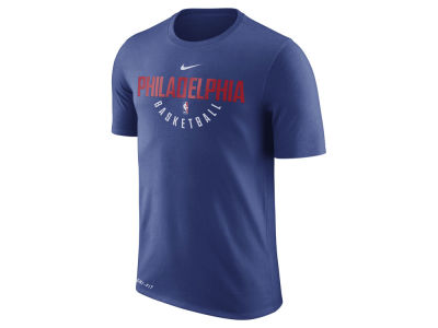 Philadelphia 76ers Nike NBA Men's Dri-Fit Cotton Practice T-Shirt