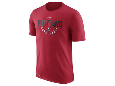 Portland Trail Blazers Nike NBA Men's Dri-Fit Cotton Practice T-Shirt