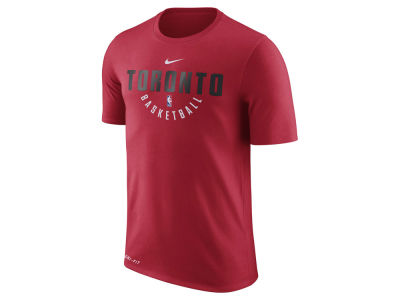 Toronto Raptors Nike NBA Men's Dri-Fit Cotton Practice T-Shirt