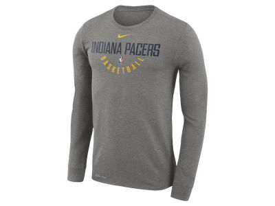 Indiana Pacers Nike NBA Men's Long Sleeve Dri-Fit Cotton Practice T-shirt