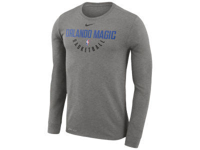 Orlando Magic Nike NBA Men's Long Sleeve Dri-Fit Cotton Practice T-shirt