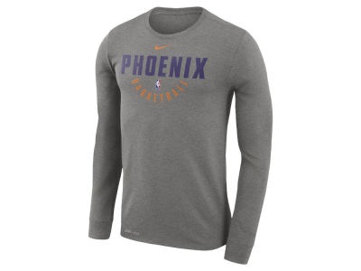Phoenix Suns Nike NBA Men's Long Sleeve Dri-Fit Cotton Practice T-shirt