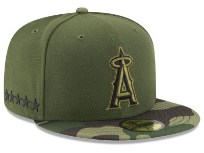 Los Angeles Angels New Era 2017 MLB Youth Memorial Day 59FIFTY Cap