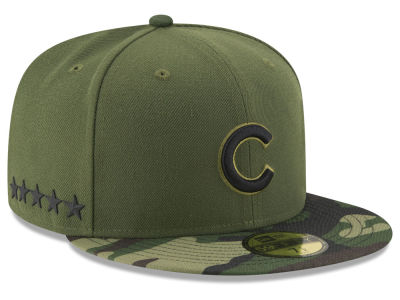 Chicago Cubs New Era 2017 MLB Youth Memorial Day 59FIFTY Cap