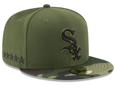 Chicago White Sox New Era 2017 MLB Youth Memorial Day 59FIFTY Cap