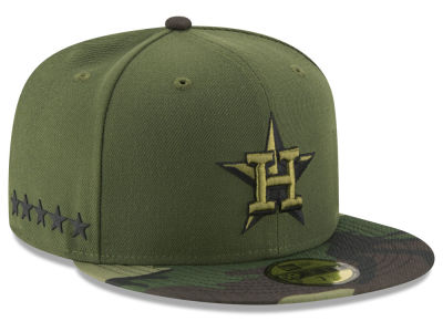 Houston Astros New Era 2017 MLB Youth Memorial Day 59FIFTY Cap